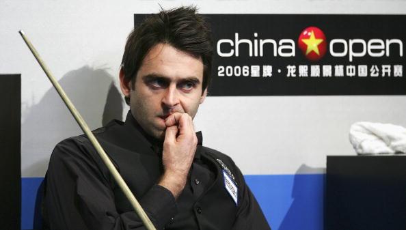 图文-斯诺克中国赛第三天奥沙利文黯然接受失败