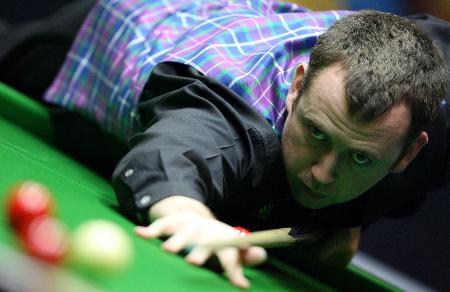 图文-斯诺克中国赛决赛赛况威廉姆斯目光如炬