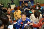 图文-国乒对抗赛男一队夺冠刘国梁同样是焦点
