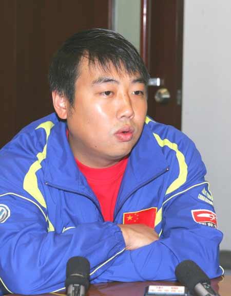 图文-中国乒乓球队在京举行通气会刘国梁点评男乒