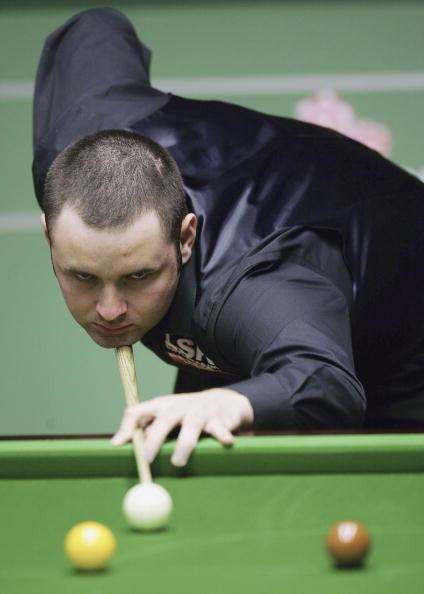 图文-斯诺克世锦赛第三日马奎尔成功晋级下轮