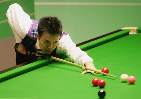 图文-斯诺克世锦赛激战香港名将傅家俊逼近八强