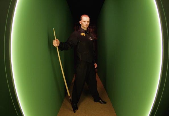 图文-斯诺克世锦赛决赛开战多特经历的很多很多