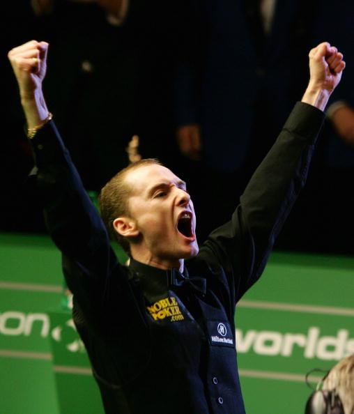 图文-斯诺克世界锦标赛落幕托特振臂高呼
