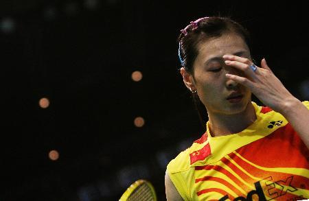 图文-中国男女队双双晋级四强张宁有些疲惫
