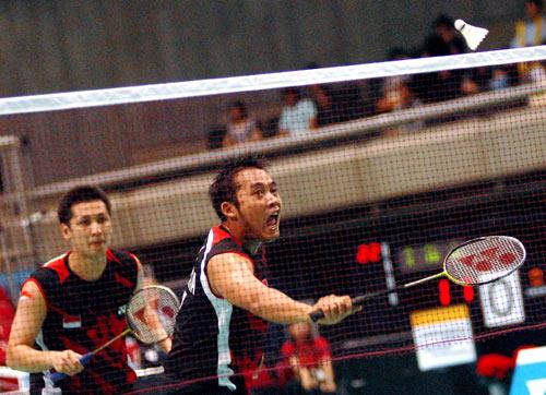 图文-汤杯半决赛中国3-0印尼印尼双打颇具实力