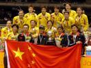 图文-尤伯杯中国豪取五连冠五星红旗辉映金牌之师