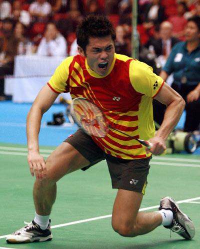 图文-汤姆斯杯决赛中国VS丹麦超级丹霸气十足