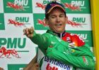 图文-环法自行车赛第四赛段麦克伊文穿上绿衫