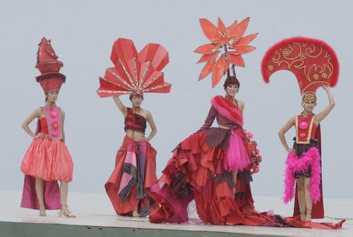 图文-第五届环青海湖自行车赛揭幕传统与现代的融合