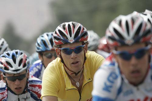 图文-环湖赛第六赛段战况亚林吉坚定信念保住黄衫