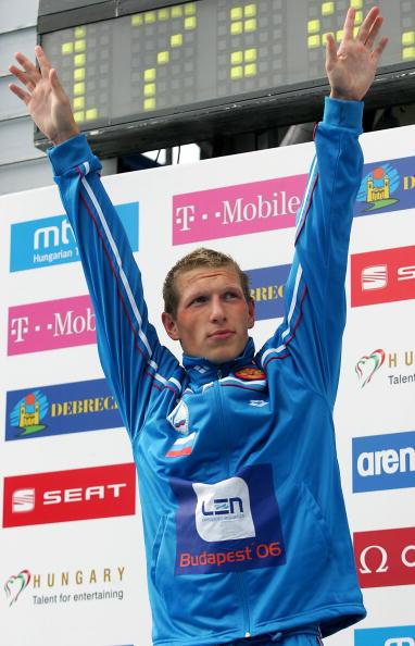 图文-欧洲游泳锦标赛第四日普里鲁科夫摘得金牌