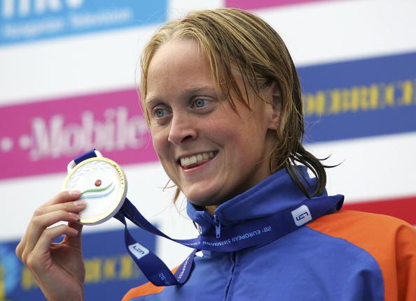 图文-欧洲游泳锦标赛第四日德克尔蝶泳夺金