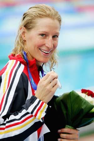 图文-5日欧洲游泳锦标赛战况赖伯斯笑容灿烂