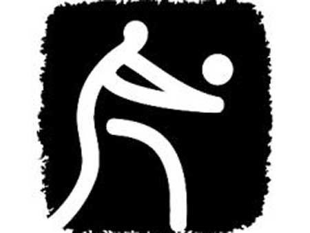 图文-北京2008奥运会体育图标揭晓排球