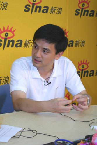 奥运冠军熊倪做客新浪依然是记忆中的王子