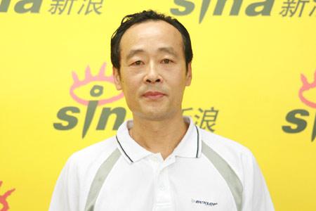 图文-莫慧兰王海滨王健做客谈奥运王健儒雅风范
