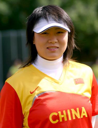 图文-2006年女垒世锦赛中国军团扫描投手于汇莉
