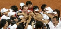 图文-女垒世锦赛中国3比1意大利团结就是胜利