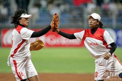 图文-女垒世锦赛中国第四于汇莉于燕宏互相激励