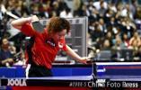 图文-女乒世界杯小组赛况新加坡选手李佳薇获胜