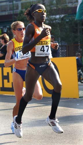 图文-荷兰运动员打破世界纪录基普拉加特健步如飞