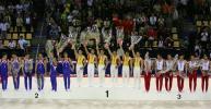 图文-体操世锦赛中国男团重登巅峰站上最高领奖台