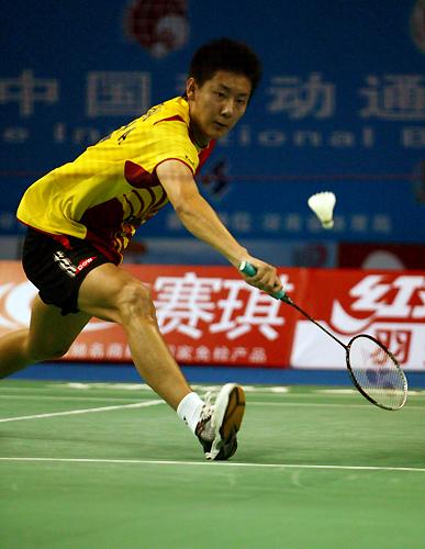 图文-羽毛球世界杯陈金开门红小虎下山迅猛有力