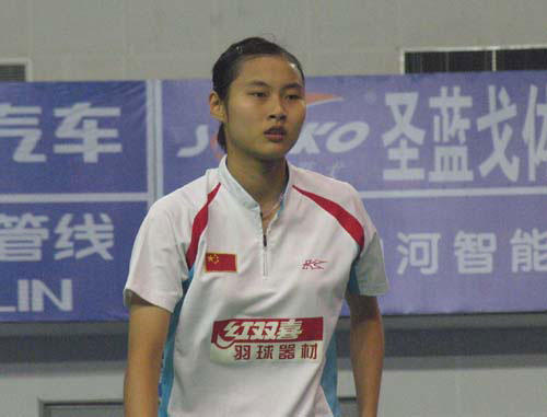 图文-王仪涵获羽球世界杯女单冠军小花不骄不躁