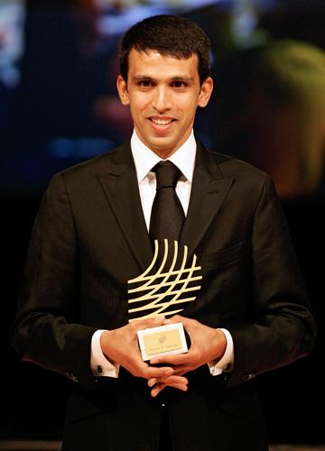 图文-国际田联年度最佳颁奖奎罗伊获杰出职业生涯奖