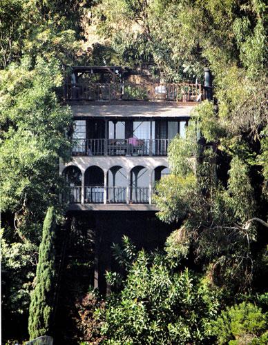 图文-索普好莱坞宅邸隐秘山中直通缆车的神秘园