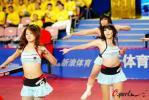 图文-国球大典乒乓宝贝的热舞表演现场气氛热烈