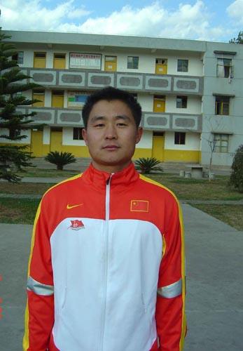 图文-奥运舵手选拔东区选手训练营亮相张德常