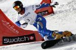 图文-单板滑雪世锦赛平行回转赛意大利人沉稳大气