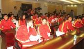 图文-第6届亚冬会中国代表团成立夺金冰雪健儿