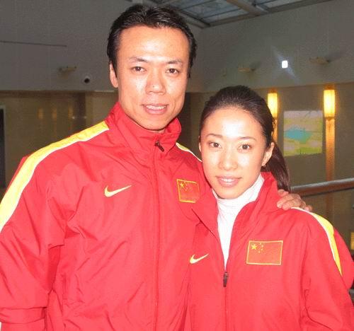 图文-第6届亚冬会中国代表团成立申雪和赵宏博