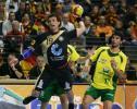 图文-07男子手球世锦赛揭幕德国科尔曼射门