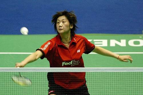 图文-大马羽球赛女单朱琳进决赛气定神闲淘汰对手