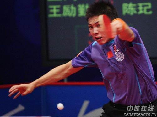 小将-男乒选拔赛最后一日左手马术抽球力量十国内图文v小将图片