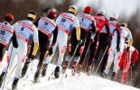 图文-北欧两项滑雪世锦赛24日冰雪大军向前冲