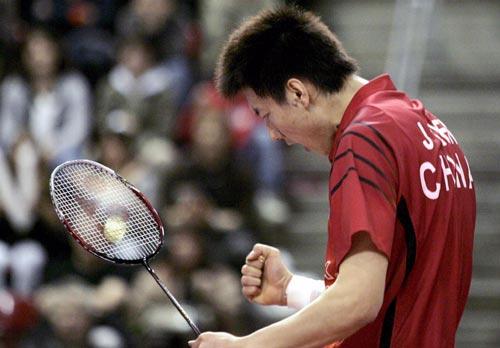 图文-瑞士羽球超级赛中国获三冠一声怒吼呼唤胜利