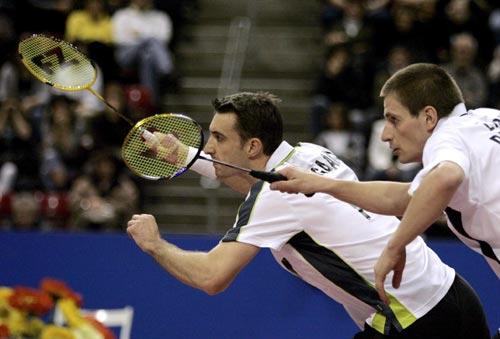图文-瑞士羽球超级赛中国获三冠虎视眈眈等来球