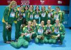 图文-世锦赛女子水球美国队夺冠东道主获得亚军