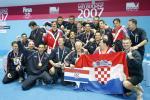 图文-世锦赛水球项目冠军谱男子冠军克罗地亚队