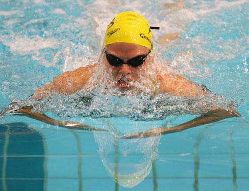图文-美澳游泳对抗赛举行蛙后琼斯实力不俗