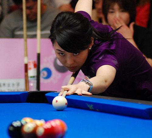 图文-潘晓婷首夺世界冠军暗运真气准备致命一击