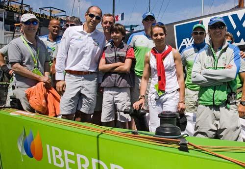图文-路易威登帆船挑战赛20日赛况西班牙公主助兴