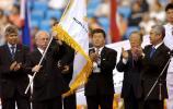 图文-跆拳道世锦赛收官之日哥本哈根接过会旗
