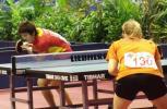 图文-世乒赛女单23日激战正酣这就是黑马的架势