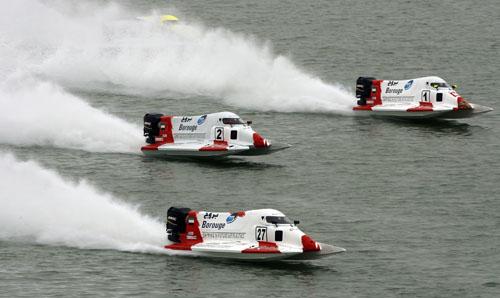 图文-F1摩托艇世锦赛法国站埃米雷斯独霸一方
